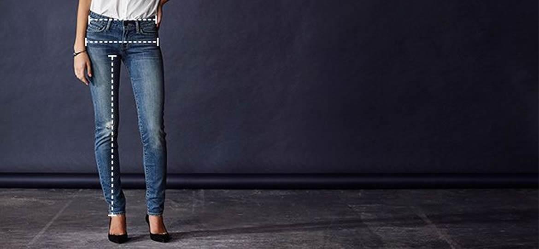 Особенности обозначения размеров джинсов Levi`s