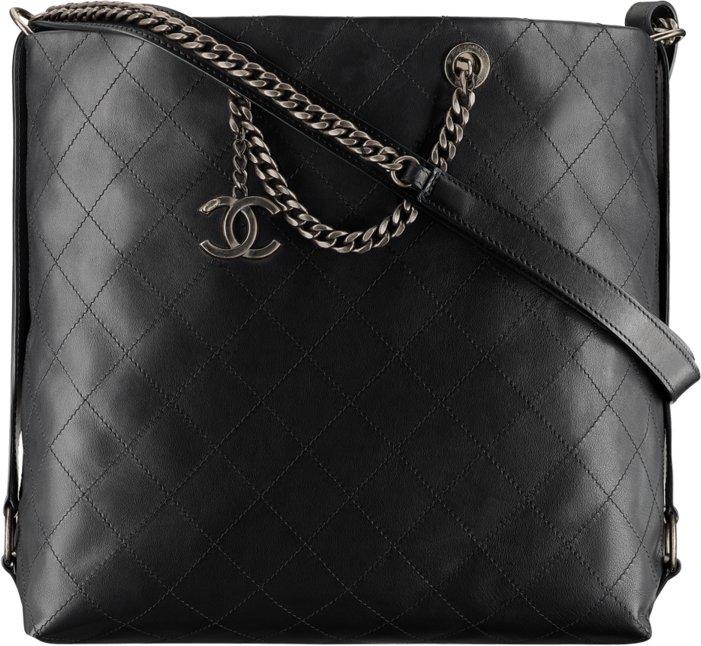Телячья сумка Chanel HOBO