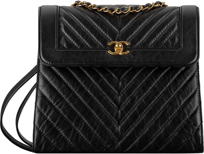 Рюкзак из кожи теленка Chanel