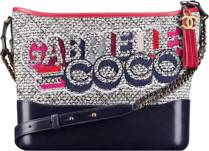 Твидовая сумка Gabrielle Coco hobo - Chanel