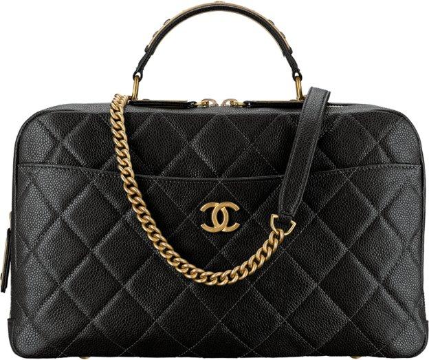 Сумка BOWLING Chanel черного цвета