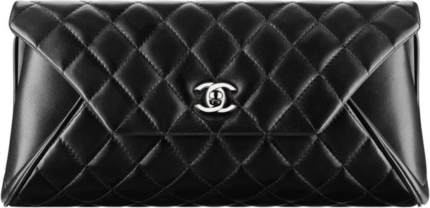 Клатч Chanel из кожи ягненка