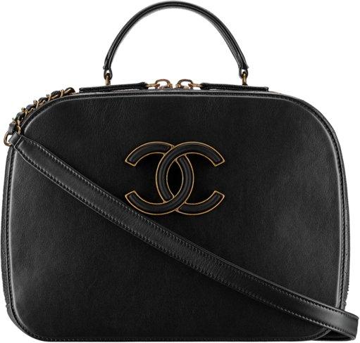 Сумка Chanel Vanity из кожи коэы и л