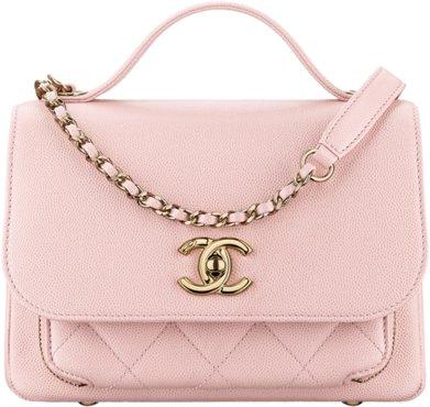 Розовая сумка-конверт из зернистой кожи теленка
